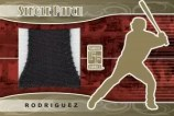 Alex Rodriguez Famous Fabrics Patch