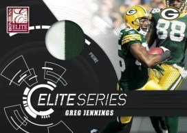 2010 Donruss Elite Series Greg Jennings Jersey