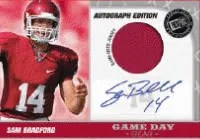 2010 Press Pass Portraits Sam Bradford Jersey Autograph