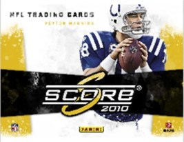 2010 Score Football Box