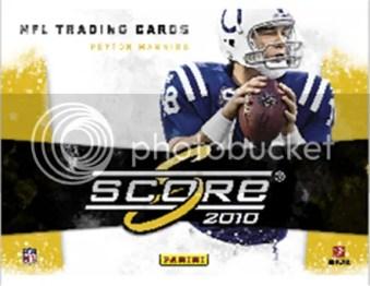 2010 Score Retail Football Box