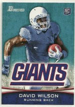 2012 Bowman David Wilson Base Variation Sp Card