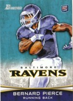 2012 Bowman Bernard Pierce RC Rookie