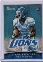 2012 Bowman Ryan Broyles Base Variation RC