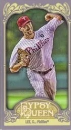 2012 Topps Gypsy Queen Cliff Lee Mini Sp