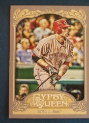 2012 Topps Gypsy Queen Joey Votto Sp
