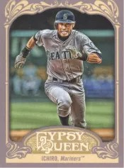 2012 Topps Gypsy Queen Ichiro Base Card