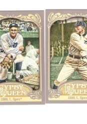 2012 Topps Gypsy Queen Ty Cobb Base