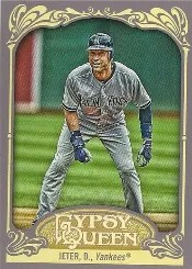 2012 Topps Gypsy Queen Derek Jeter Base