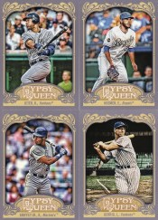 2012 Topps Gypsy Queen Derek Jeter Sp Variation