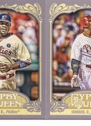 2012 Topps Gypsy Queen Ryan Howard Base Card