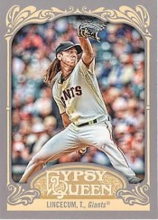 2012 Topps Gypsy Queen Tim Lincecum Base Card