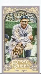 2012 Topps Gypsy Queen Ty Cobb Mini Sp
