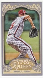 2012 Topps Gypsy Queen Cole Hamels Mini Sp