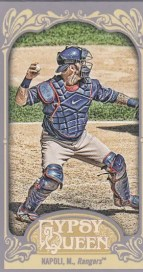 2012 Topps Gypsy Queen Mike Napoli Mini Sp