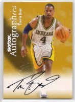 Travis Best Autographics Auto