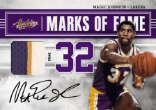 09/10 Panini Absolute Memorabilia Magic Johnson Auto