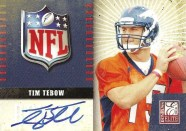 2010 Donruss Elite Tim Tebow Autograph RC
