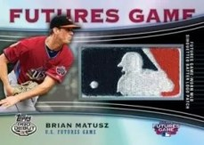 2010 Topps Pro Debut Futures Game Patch Cards