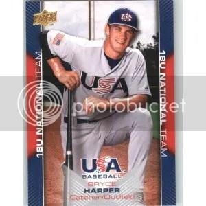 08/09 USA Baseball Bryce Harper