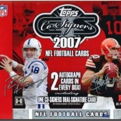 2007 Topps Co-Signers Football Hobby Box