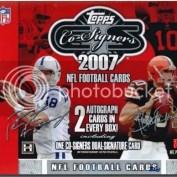 2007 Topps Co-Signers Football Hobby Box