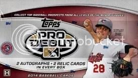 2014 Topps Pro Debut Baseball Box