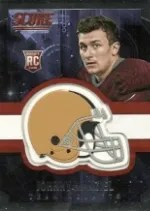 2014 Score Johnny Manziel RC Helmet