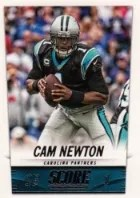 2014 Score Cam Newton Base Card
