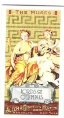 2010 Topps Allen & Ginter The Muses