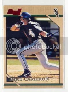 Mike Cameron 1996 Bowman RC Card
