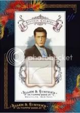 Stephan Colbert Allen & Ginter DNA Hair Card