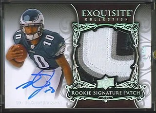 Desean Jackson 08 Exquisite Rookie Patch