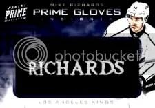 12-13 Panini Prime Gloves Brad Richards