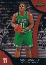 2007/08 Topps Finest Glen Big Baby Davis Rookie RC