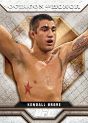 2010 Topps UFC Octagon of Honor Insert Checklist