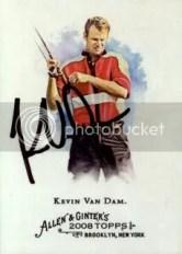 Kevin Van Dam 2008 Topps Allen & Ginter TTM