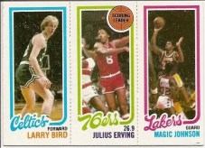 1980/91 Magic Johnson Larry Bird Julius Erving Rookie