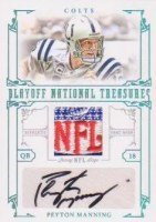 NFL Patch Logo Jersey Auto Cards