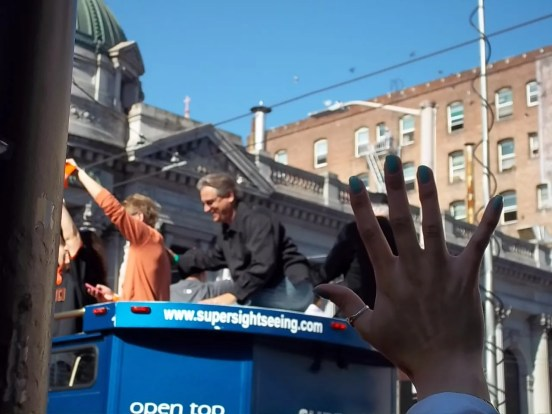 Giants Broadcaster Duane Kuiper World Series Parade