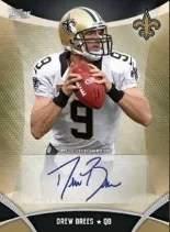 2013 Topps Autograph Drew Brees