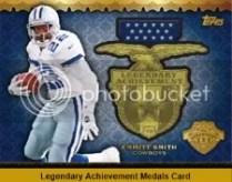 2013 Topps Legendary Achievement Medal