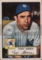 Yogi Berra 1952 Topps #191