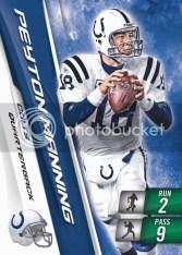 2010 Panini Adrenalyn XL Football peyton Manning