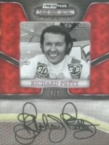 2010 Press Pass Showcase Richard Petty Autograph