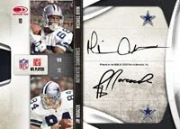 Dallas Cowboys National Treasures Quad Autograph Card