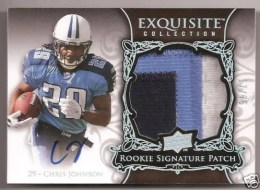 2008 Exquisite Chris Johnson RC