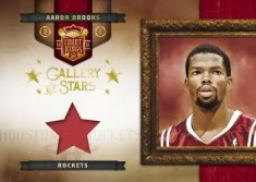 09/10 Panini Studio Gallery Of Stars Aaron Brooks Jersey