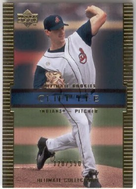 Cliff Lee 2002 Upper Deck UD Ultimate Collection RC Rookie Card