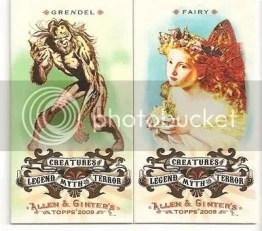 Grendel & Fairy 2009 Allen & Ginter